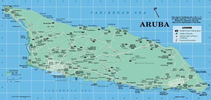 Explore The Beauty Of Caribbean: Best 25+ Aruba Map Ideas On Pinterest