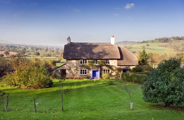 An English Country Farmhouse (Look Who's Day Dreaming!)