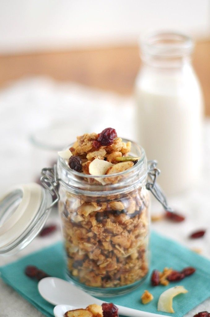Paleo Cranberry Nut Granola | Recipe | Paleo, Granola and Grains