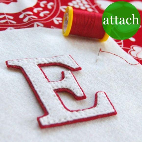 ATELIER CHERRY  making monogram letters!