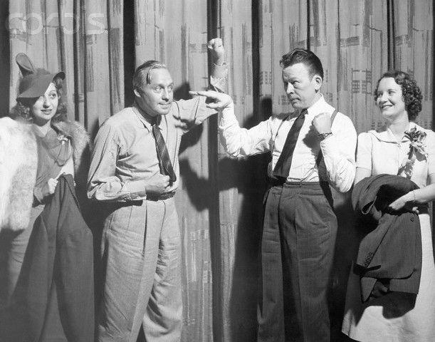 Mary Livingstone, Jack Benny, Fred Allen, Portland Hoffa
