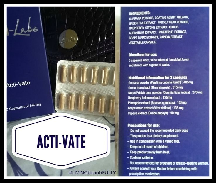 Acti-Vate capsules may help you:  •Green Tea - for Detox and Weight Loss  •Guarana - Extra Energy •Superfruits - General Health Benefits  Speed up Metabolism reduced Bloating  Reduced Water Retention  •Raspberry Ketones - Fat burning All in one natural capsule with NO nasty side effects. #energy #actiamber