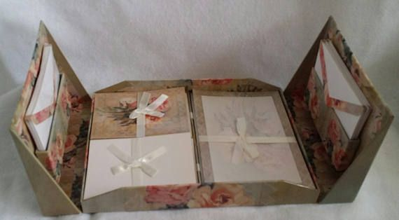Check out this item in my Etsy shop https://www.etsy.com/listing/523589769/vintage-stationary-box-set-rose-theme