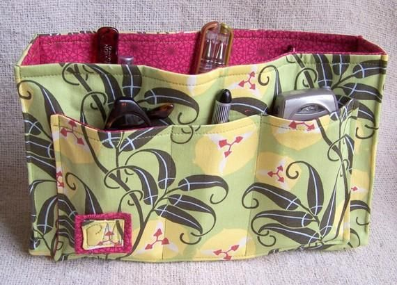 Purse Organizer Insert by Christie Min   Sewing Pattern