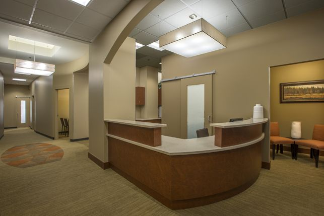 Orthodontics office Interior design and Architecture - Aspen Park Dental - Lynne Thom Architects