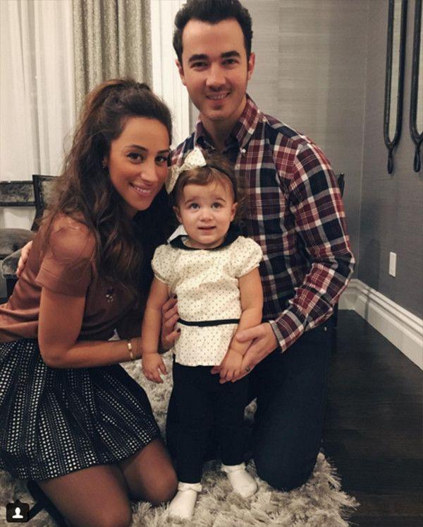 Kevin Jonas, Danielle Jonas, Daughter Alena Rose Jonas