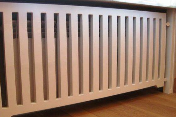 Экран для батареи отопления, как своими руками сделать установку, какие выбрать: защитные, деревянные, стеклянные, пластиковые, особенности изготовление конструкции, фото видео примеры — Своими руками