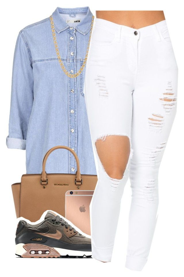 """""""5~26~16"""" by ajsavagee ❤ liked on Polyvore featuring Topshop, Michael Kors, Mura, NIKE and Gogo Philip"""