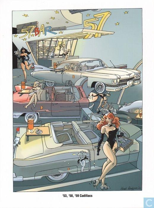 Ex-Libris BD et tirages - Tiré à part - Auto franka