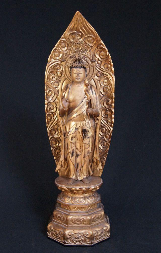 large antique japanese kannon statue for sale antique buddha statues