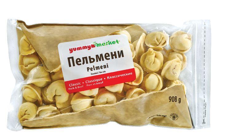 Classic Pork and Beef Pelmeni from #YummyMarket