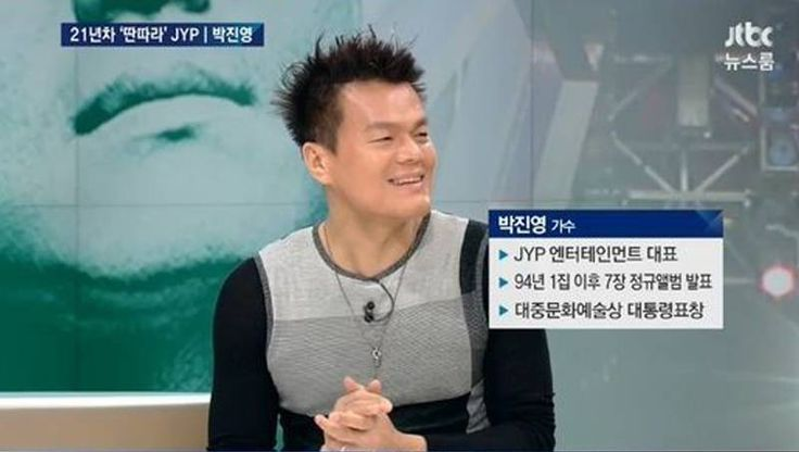 J.Y. Park discusses JYP trainee Hani and IU who auditioned, as well as his own career | http://www.allkpop.com/article/2015/05/jy-park-discusses-jyp-trainee-hani-and-iu-who-auditioned-as-well-as-his-own-career