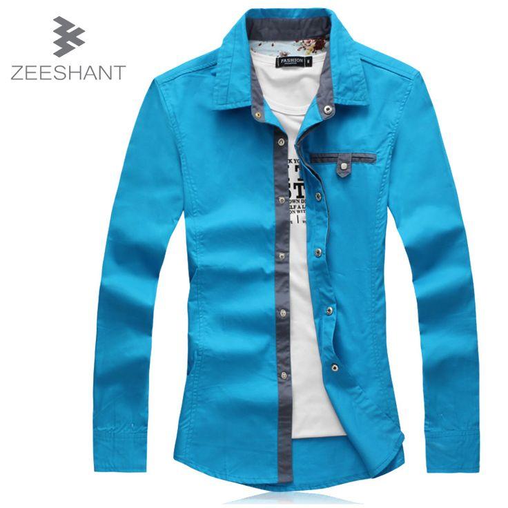 Solid Men Dress Casual Shirt Luxury Brand Clothing Long Sleeve Dress Shirt Cotton Abbigliamento Uomo Plus Size 5XL Tuxedo Shirts♦️ B E S T Online Marketplace - SaleVenue ♦️👉🏿 http://www.salevenue.co.uk/products/solid-men-dress-casual-shirt-luxury-brand-clothing-long-sleeve-dress-shirt-cotton-abbigliamento-uomo-plus-size-5xl-tuxedo-shirts/ US $12.34