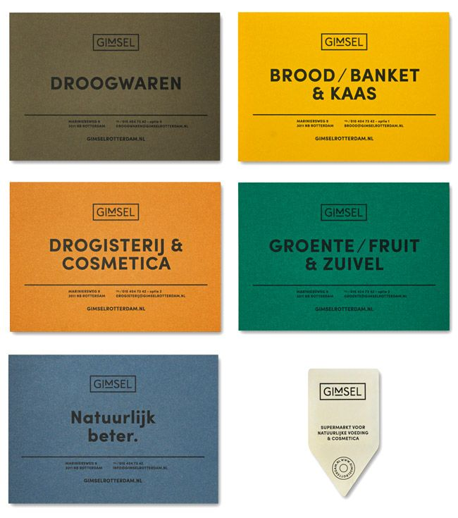 Gimsel Supermarkt | visual identity by Studio Beige