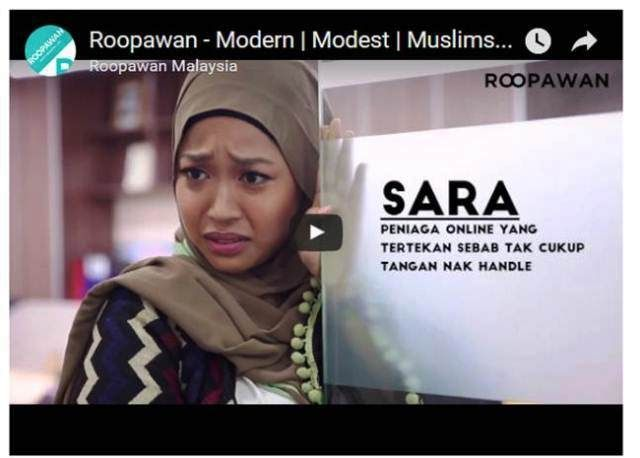 http://www.roopawan.com | Buy Muslimah clothing and Muslimah dress online at Roopawan.com - Best Muslimah fashion store in Malaysia!