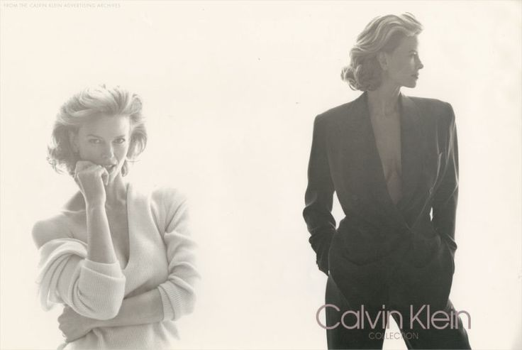 Calvin Klein Collection Lisa Taylor | ©Steven Meisel