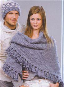 Poncho | Omslagdoek | Pattern| Mrs Knitting| Handknit | DIY | Hobbydoos
