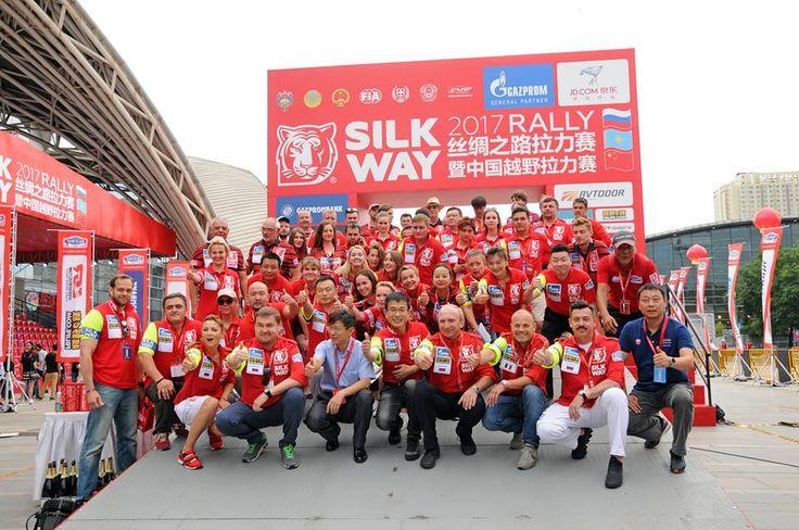 ALLA CONQUISTA DELLA VIA DELLA SETA ECCO IL Silk Way Rally