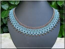 schémas bijoux en perles de rocailles - Recherche Google