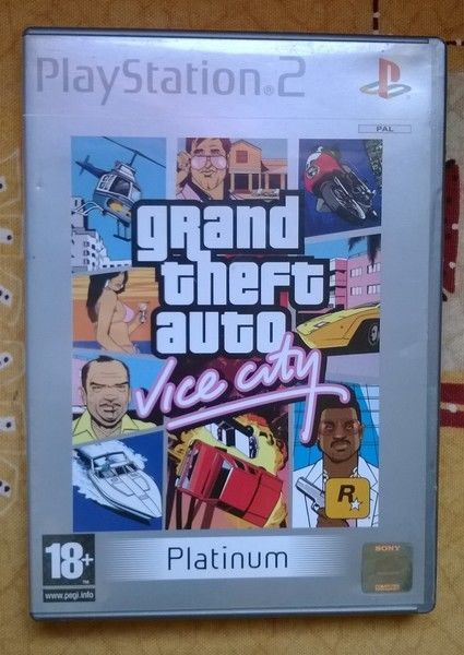 Collection Jeux Video - Playstation 2 - GTA Vice City