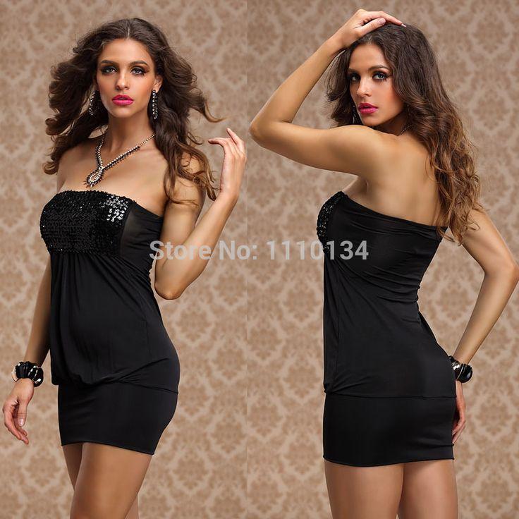 plus size m xxl sexy club kleding 2014 vrouwen mouwloze tuniek casual kleding elegante feestjurken lovertjes vintage jurk s1044 $10,53 (free shipping)