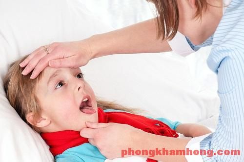 Các biến chứng của viêm amidan mủ ở trẻ em mẹ chưa biết