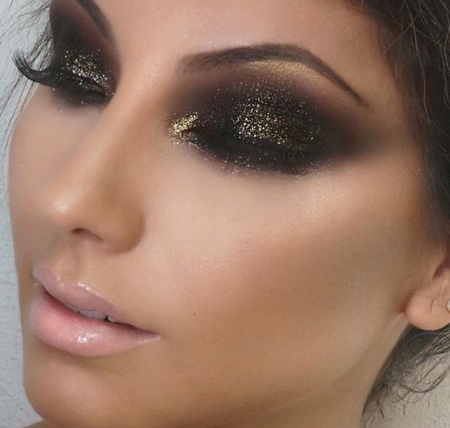 Heavy Dark Eye Makeup Makeupview