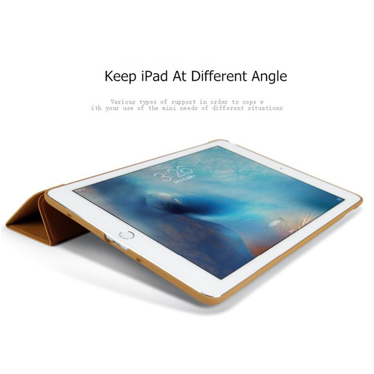Smart Fold Stand Case For iPad Mini 1 2 3 Retina Auto leep/Wake Up Tri-fold Cover Stand Holder Case   iPhone Covers Online
