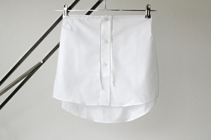 Shirt Skirt / Love Aesthetics http://love-aesthetics.blogspot.com/2012/05/diy-skirt-shirt.html