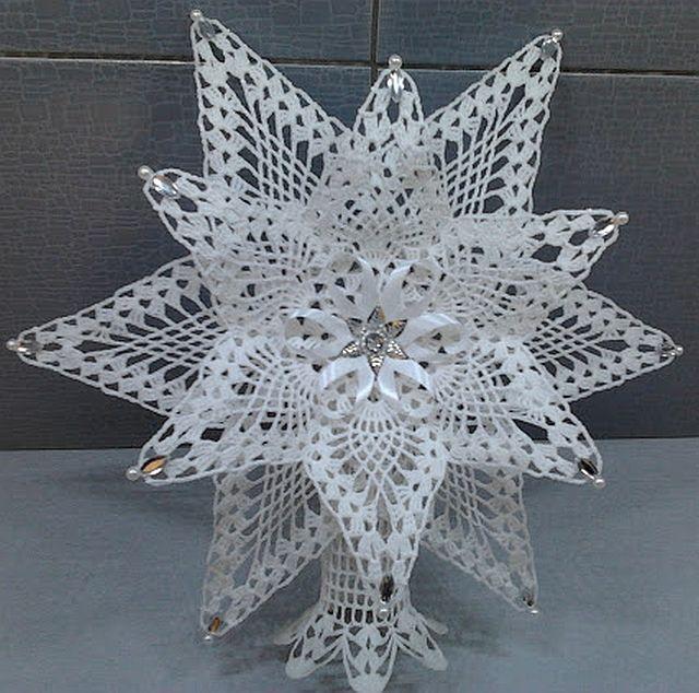 :: :: Lucy pletení: háčkovat vánoční ozdoby