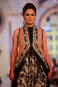 Ammar Shahid - Pakistani Bridal Fashion PBCW 2013 Lahore