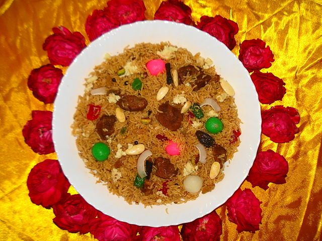 Cuisine of Karachi: Mutanjan متنجن
