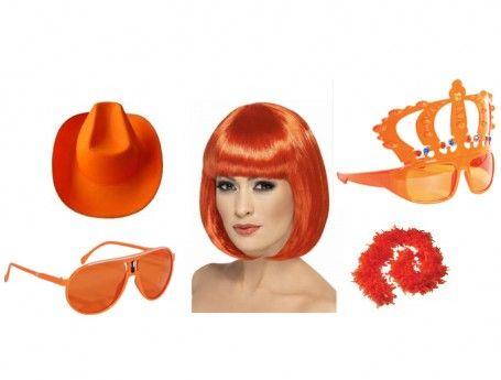Oranje accessoires voor Koningsdag en WK | online shoppen | ZOOK.nl