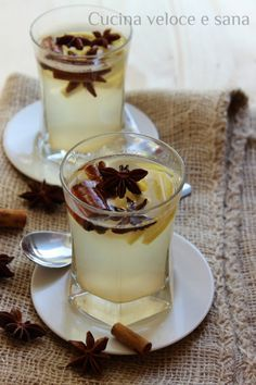 Tisana digestiva limone zenzero canella