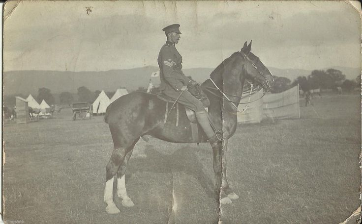 SNCO DHY On horseback