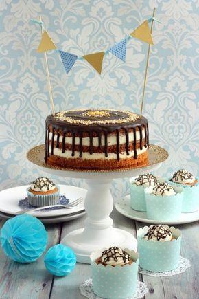 Születésnapi répatorta és muffin recept