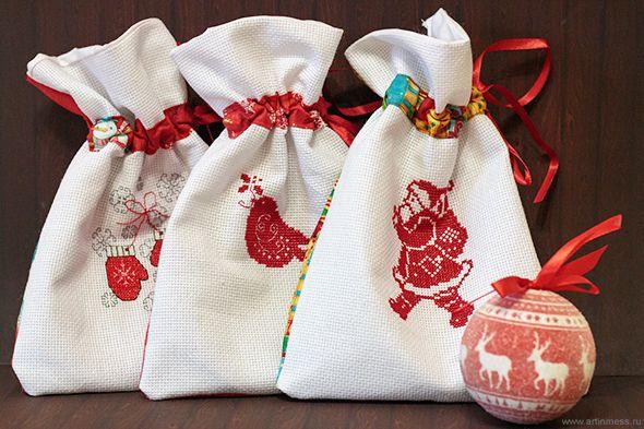 Art in mess: Новогодние мешочки / New Year sacks
