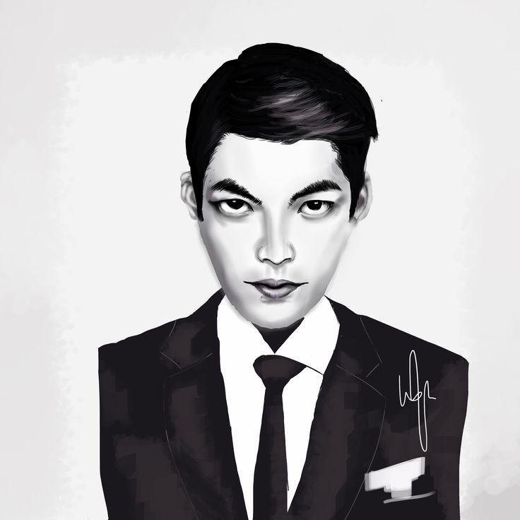Kim Woo Bin fan art