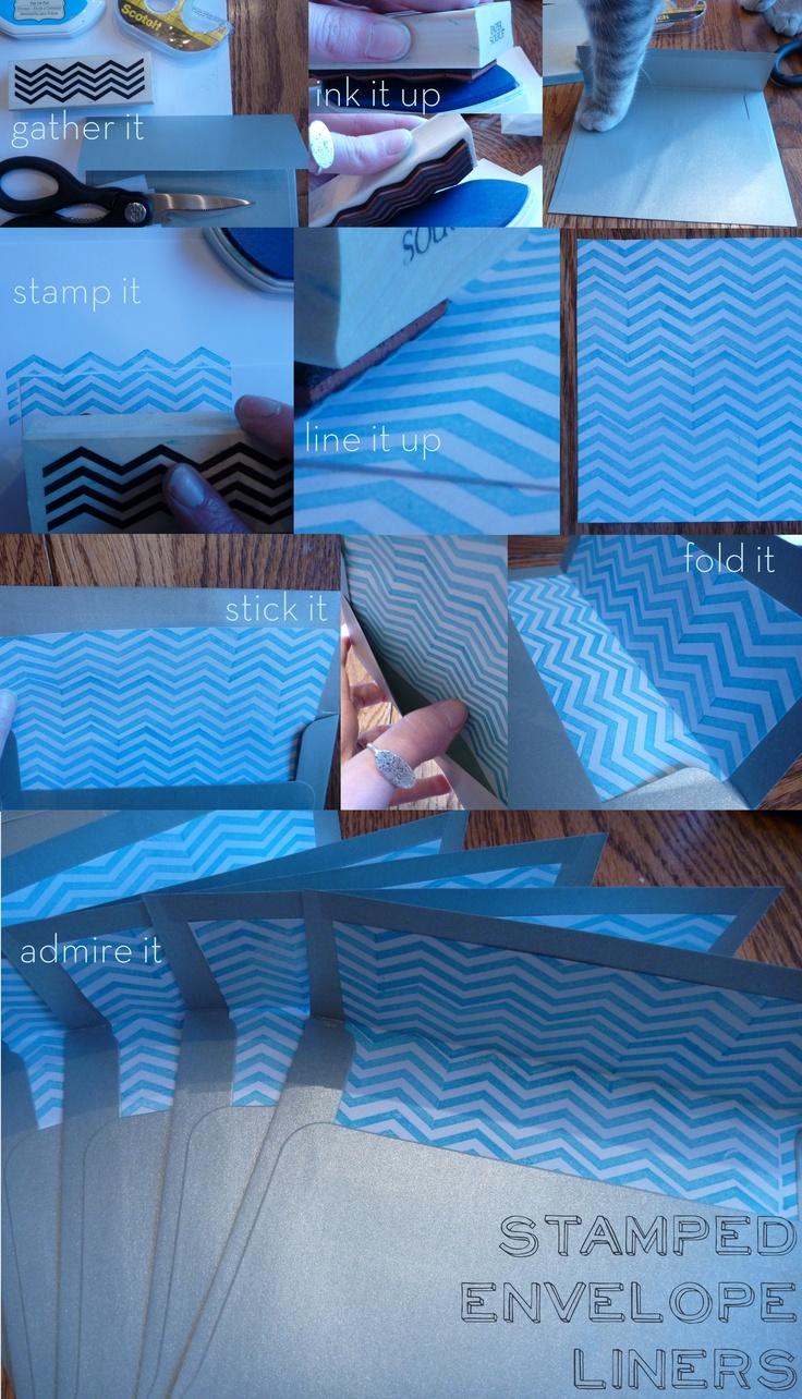 Envelope liners: Check, Envelopes Liner, Envelope Liners, Our Wedding Ideas, Diy Envelopes, I'M, Wedding To Do, Lists, My Wedding