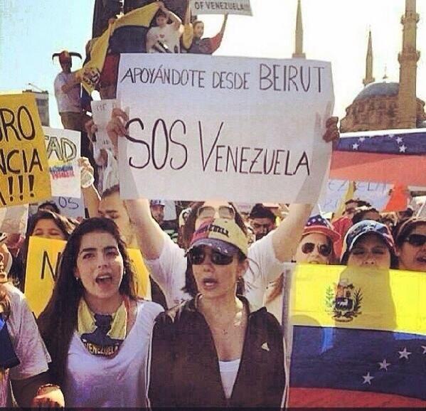 BEIRUT- LIBANO #PrayForVenezuela #SOSVenezuela #22F