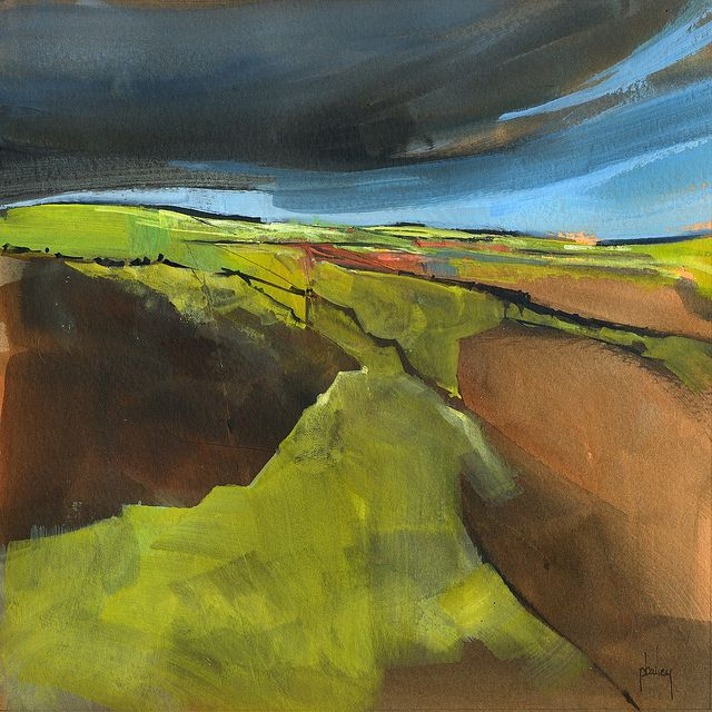 Open moorland by Paul Steven Bailey, via Flickr