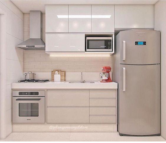 51 superbes idées de design de cuisine pour petite maison  #cuisine #design #id…