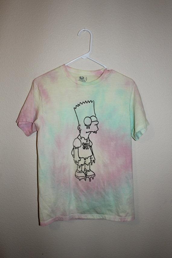 Strung Out Bart Simpson Shirt