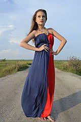 Šaty - dlhé šaty coccomofashion - 4307738_