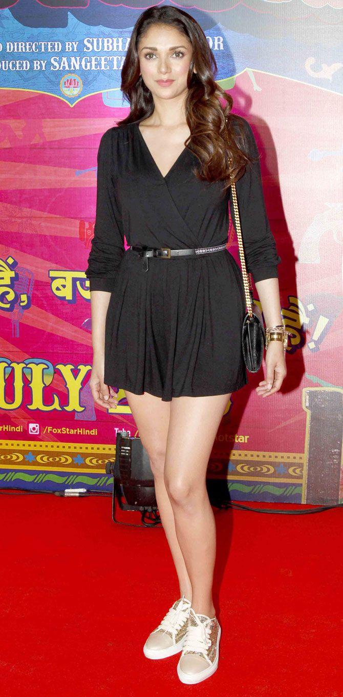 Aditi Rao Hydari at screening of 'Guddu Rangeela'. #Bollywood #Fashion #Style #Beauty #Sexy #Hot