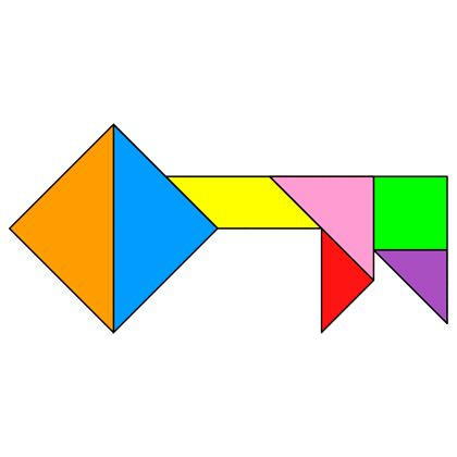tangram key tangram solution 75 providing teachers and pupils with tangram puzzle activities