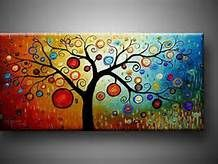 155 best Christmas/winter canvas painting images on Pinterest ...