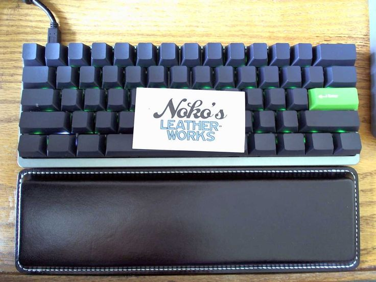 Noko's Leatherworks - Massdrop TKL Sale On Now - Custom Wrist Rests