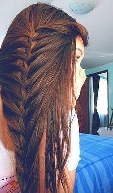 Braid Hairstyles - en güzel saç modelleri - uzun saç modelleri - uzun saçlar - uzun sac modelleri - ombre saç modelleri   SadeKadınlar - Güzellik Sırları