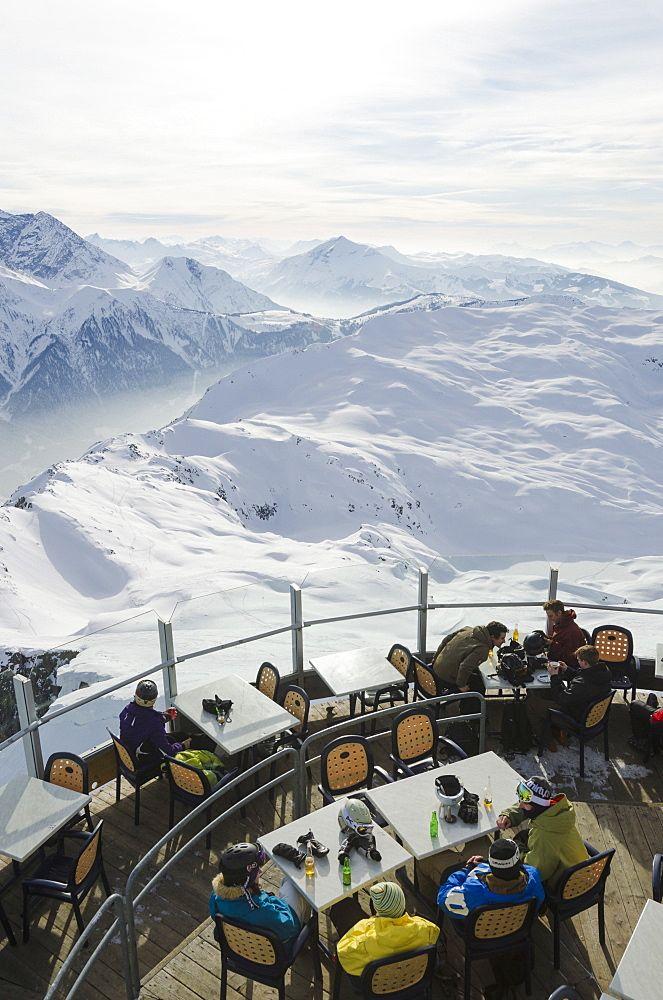 Brevant restaurant, Chamonix, Haute-Savoie, French Alps, France, Europe